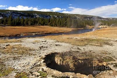 Photograph - Yellowstone Scallop by Adam Jewell