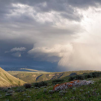 Photograph - Yellowstone Sky by Aaron Spong