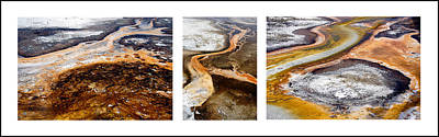 Yellowstone Triptych Art Print