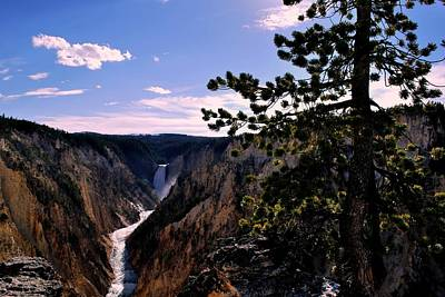 Photograph - Yellowstone Waterfall by Matt Harang
