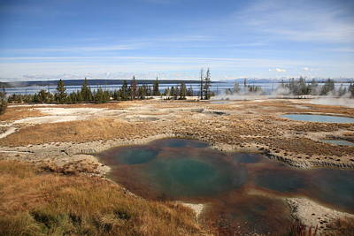 Photograph - Yellowstone - West Thumb Geyser Basin by Frank Romeo