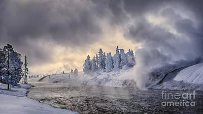 Paul Mccartney - Yellowstone Winter Wonderland by Priscilla Burgers