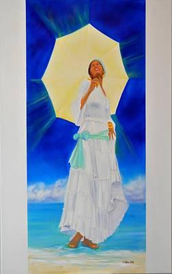 Yemaya Painting - Yemaya II by KCatia Creole Art