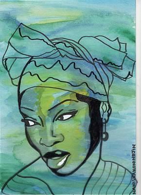 Yemaya Art Print by Stacey Austin