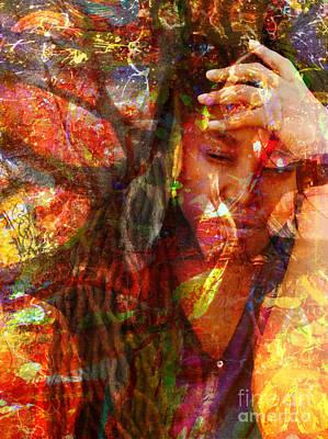 Authority Mixed Media - Yep  by Fania Simon