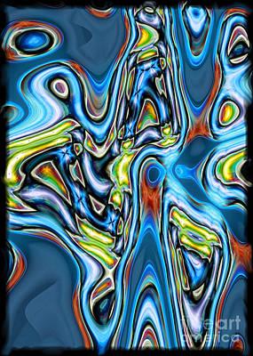 Digital Art - Yes I Feel It It In My Bones by Gabriele Pomykaj
