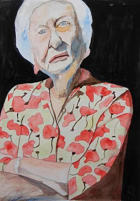 Painting - Yes I'm 91 by Esther Newman-Cohen