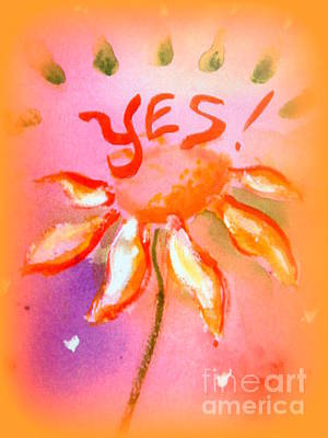 Painting - yes by Wendy Wiese