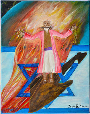 Art Print featuring the painting Yeshua by Cassie Sears