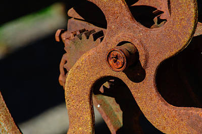 Photograph - Yester Gears by Tikvah's Hope