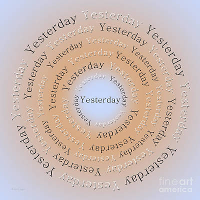 Digital Art - Yesterday 1 by Andee Design