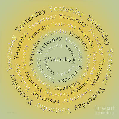 Digital Art - Yesterday 2 by Andee Design