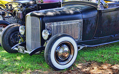 Photograph - Yesterdays Hot Rod by Ron Roberts