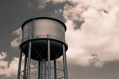Photograph - Yet Another Water Tower by Nathan Hillis