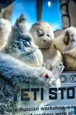 Abominable Snowman Photograph - Yeti Store by Scott Wyatt