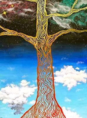Yggdrasil Painting - Yggdrasil by Tai Hicks