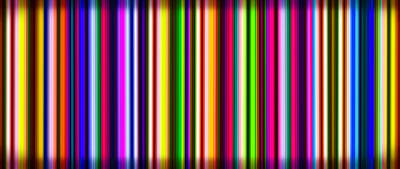 Digital Art - Yikes Stripes by Ginny Schmidt