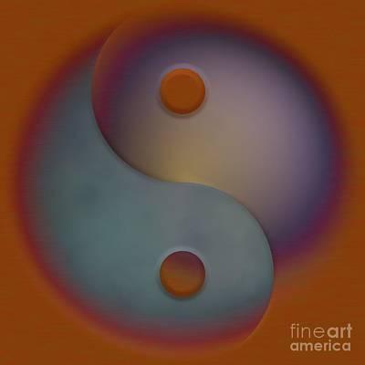 Digital Art - Yin And Yang  by Liane Wright