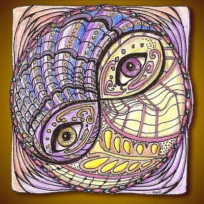Observer Drawing - Yin Yang by Melinda DeMent