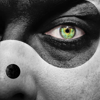 Contradiction Photograph - Yin Yang by Semmick Photo