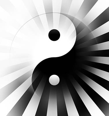 Yin Yang Power Art Print by Daniel Hagerman