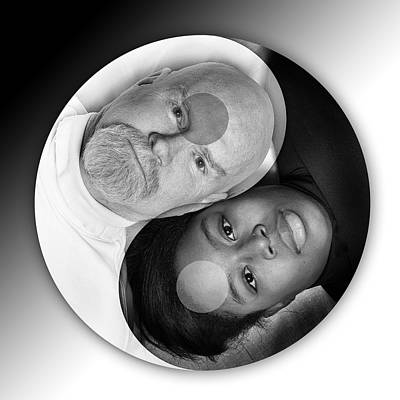 Photograph - Ying And Yang by Dennis James