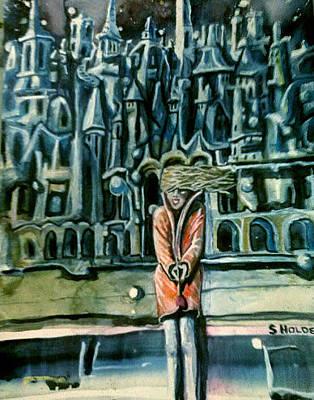 Painting - Yevganyevna  by Steven Holder