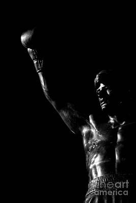 Rocky Balboa Photograph - Yo Adrian by Nicholas  Pappagallo Jr