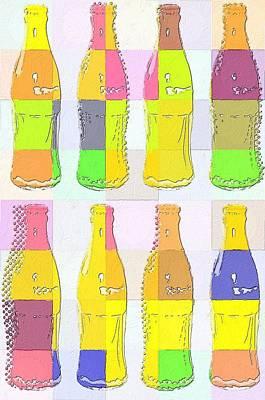 Painting - Yo Ho Ho And A Bottle Of Coke by Florian Rodarte