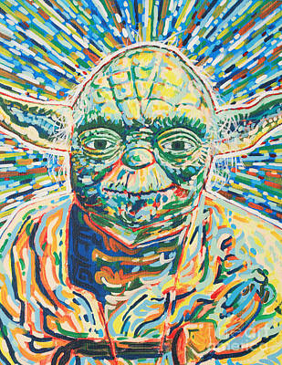 Yoda Art Print by Jesse Quinn Mayorga