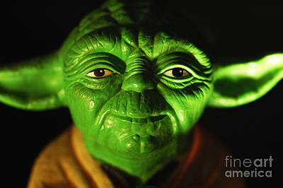 Movie Prop Photograph - Yoda by Micah May