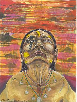 Yaqui Mixed Media - Yoeme I Am by Yoeme Arts