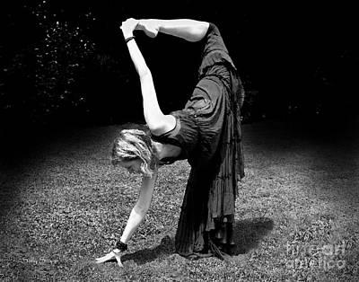 Photograph - Yoga 4 Black And White by Sally Simon