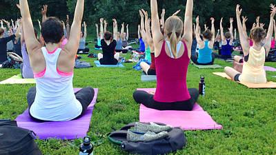 Photograph - Yoga by Diane Lent