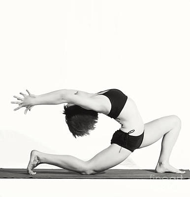 Photograph - Yoga Fem I by Angelique Olin