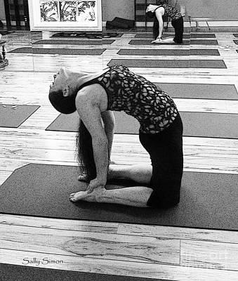 Photograph - Yoga Study 1 by Sally Simon