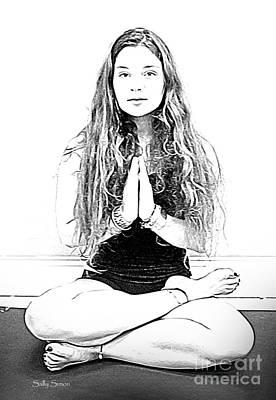 Photograph - Yoga Study 2 by Sally Simon
