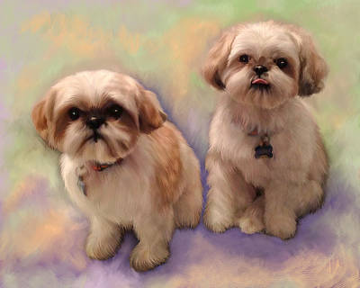 Painting - Yogi And Boo Boo by Sandra Selle Rodriguez
