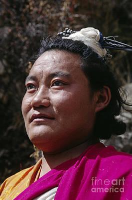 Photograph - Yogi Lundup Dorje - Tibet by Craig Lovell