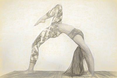 Photograph - Yogi Yoga Meditation Woman by David Haskett