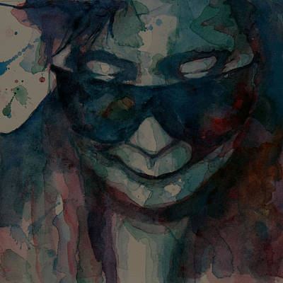 Emotive Painting - I Don't Know Why by Paul Lovering