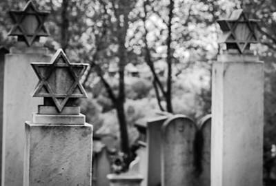 Cemeteries Of Paris Photograph - Yomhashoah by Molly Grabill