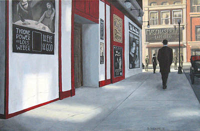 Yonge And Shuter 1916 Original by Dave Rheaume