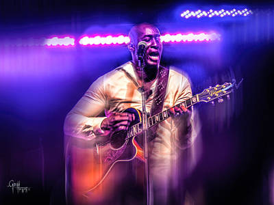 Photograph - Yonkers Riverfest - Jermaine Paul  by Glenn Feron