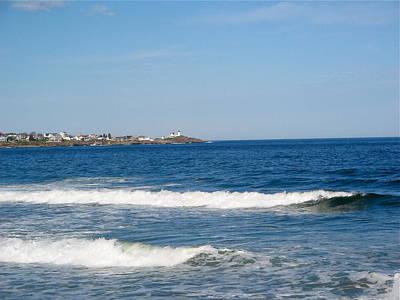 Photograph - York Beach Seascape by Denise Mazzocco