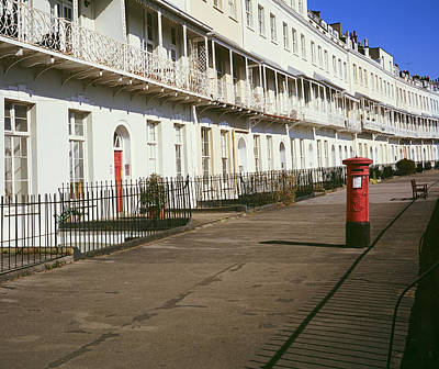 Photograph - York Crescent Bristol by Christopher Rees