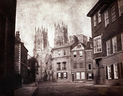 1845 Photograph - York Minster by British Library