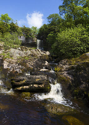 Garden Fruits - Yorkshire dales waterfall by Chris Smith