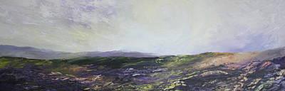 Yorkshire Moors Art Print