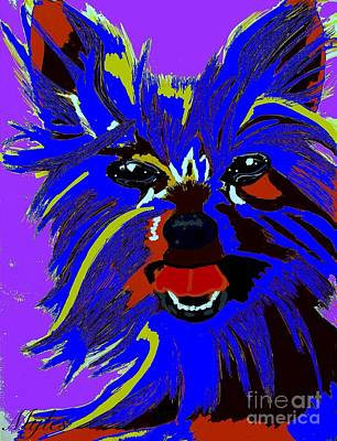 Painting - Yorkshire Terrier 2 by Saundra Myles